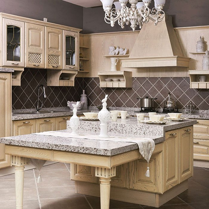 G002 Versailles - American White Ash Grain Kitchen