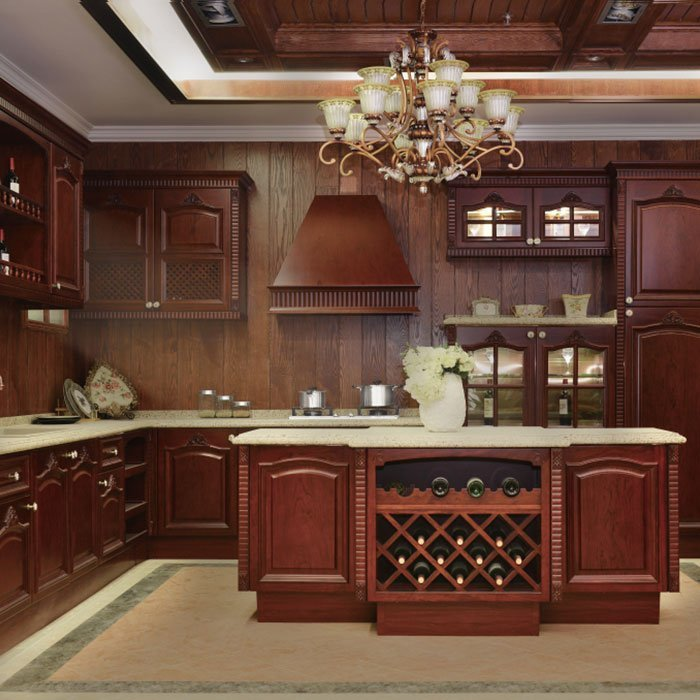 G007 Leonardo da Vinci - Noble, Classical, and Luxury Kitchen